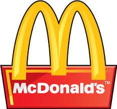 McDonalds 3D logo Free Vector / 4Vector