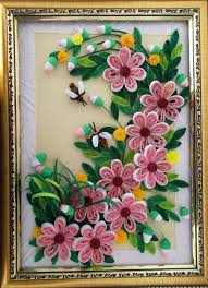 modern paper quilling wall art gallery wall painting ideas paper quilling wall hangings elegant design