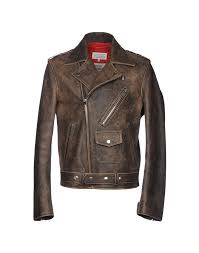 men s leather jackets spring summer and fall winter collections yoox united states