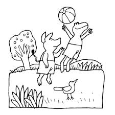Leuk Voor Kids Kleurplaten Van Kikker En Zijn Vriendjes
