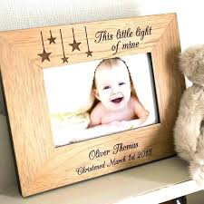 personalized wood frame wooden picture frames engraved little light of mine name canada