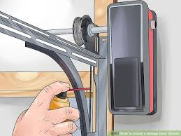 how to open a garage door manuallyHow to Install a Garage Door Opener with Pictures  wikiHow