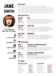Unique Resume Impressive Unique Resume Template Find The Red Creative On Www Example 60
