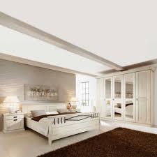 Landhaus Schlafzimmer Casaniano in Weiß | Wohnen.de