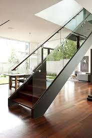 impressive glass railing cost interior designs with stair white wall tread