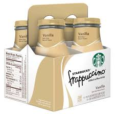 Enjoy a delicious coffee treat that until now was only available by a trained barista with the delicious starbucks unsweetened iced coffee 48 fl oz. Starbucks Vanilla Frappuccino Coffee Drink 9 5 Oz Bottles Shop Coffee At H E B
