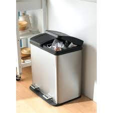 best kitchen trash cans stunning kitchen trash can kitchen trash can stainless steel 13 gallon