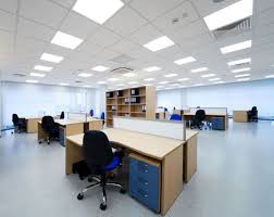 acoustic ceiling tile installation
