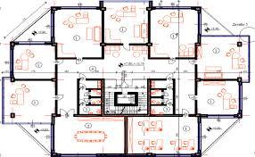 office floor layout. Office Building 3 Floors Layout Plan Dwg File Floor