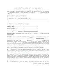 Motor Vehicle Sale Agreement Car Sale Payment Contract Template Car Sale Payment