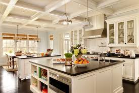 interior commercial kitchen lighting custom. Commercial Kitchen Ceiling Traditional With Stainless Steel Appliances Pendant Light Pot Filler Interior Lighting Custom L