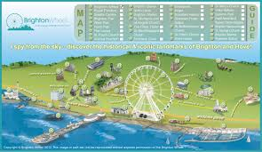 tourist map of brighton brighton tourist map brighton uk