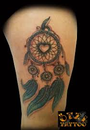 Heart Dream Catcher Tattoo Dreamcatcher Tattoo Love the heart in the middle and wouldn't 46