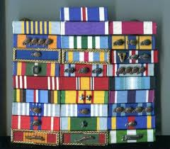 Af Medals And Ribbons Chart Military Medals Rack Builder