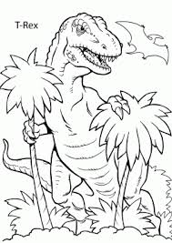 Small Picture Dinosaurs coloring pages for kids to print and color