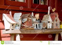 Rustic Birdhouses Rustic Birdhouses Royalty Free Stock Photos Image 6885318