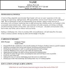 Team Leader Resume Examples Resources For Proposals Papers And Reports Howard R Hughes