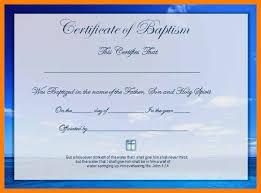 Baptism Certificate 10 Baptismal Certificates Template World Wide Herald