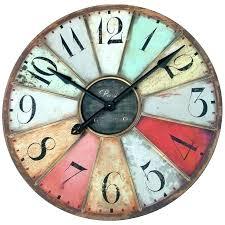 oversize outdoor clock large clocks round pool marvelous oversized wall australia