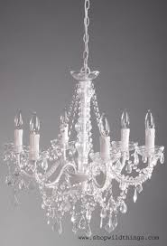 chandelier aliana white crystal 22