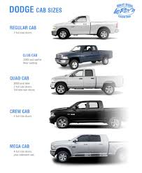 Cab Size Guide for Dodge Pickups   Leroys Customs