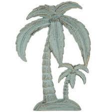 palm trees metal wall decor metal