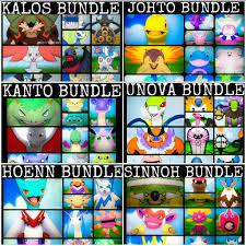 Ultra Pokemon Sun and Moon Regions Bundle - Kanto, Johto, Hoenn, Sinnoh,  Unova & Kalos