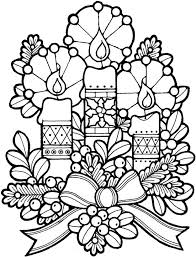 christmas candles coloring pages.  Pages More Kids Fun And Christmas Candles Coloring Pages A