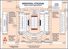 University Of Illinois Football Seating Chart Iu Stadium Seating Chart Www Bedowntowndaytona Com