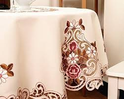 tablecloths mzpride modern american country style vintage handmade table cloth round table cloth wedding round tablecloth offers
