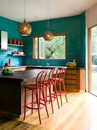 Red And Gold Kitchen Unexpected Color Palettes Copper Turquoise And Color Combinations