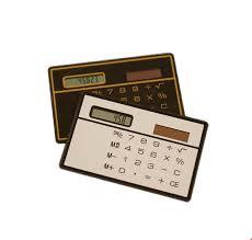 How Are Credit Card Payments Calculated Protable Mini Solar Calculator Pocket Slim Credit Card Calculators