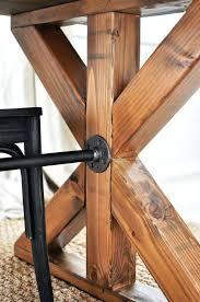 expandable farmhouse table best farmhouse table plans ideas on farm style farmhouse dining table plans