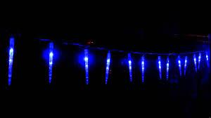 Led Christmas Blue Icicle Lights Vickysun Com Led Blue Icicle Tube Christmas Lights Snowing Function