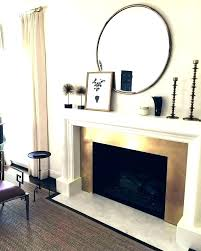 round fireplace fireplace mantels with mirrors above mantel round mirror fireplace decor images