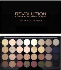 makeup revolution 32 eyeshadow palette paleta 32 cieni do powiek flawless zdjęcie 1