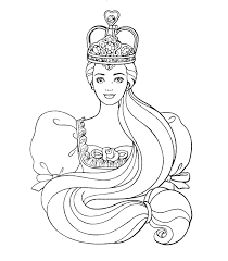 Small Picture Princess Barbie Coloring pages Printable Sheet coloring pages to