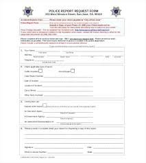 Sample Police Incident Report Writing A Templates Doc Free