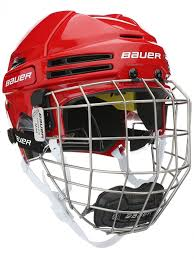 Bauer Re Akt 75 Hockey Helmets With Cage Helmets Combo