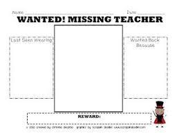 best my teacher ideas subsitute teacher sub  miss decarbo my teacher is missing sub plan pack bie
