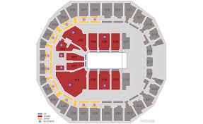 Spectrum Center Charlotte Tickets Schedule Seating