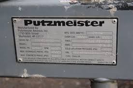 custom putzmeister concrete pumps for truck mounted 3497