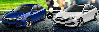 2018 Honda Civic Sedan Lx Vs Ex