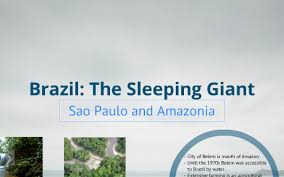 Power of place. Brazil: The Sleeping Giant by Ivan Summers Jr.
