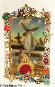 13 decorative framed mirror