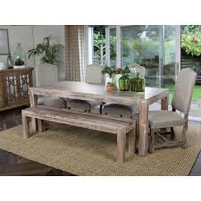 Wrap Around Bench Kitchen Table Furniture Contemporary Amanda 4 Piece Corner Dining Sets With