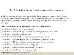 Cover Letter In Digital Marketing Lezincdc Com