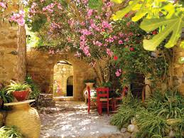 Small Picture greek courtyard garden Bing Images Garden designs Pinterest