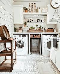 easy diy farmhouse laundry room decor