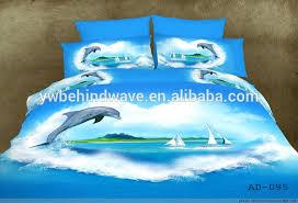 Hot Sale Design 3d Dolphin Quilt Bedding Set - Buy Quilt Bedding ... & Hot sale design 3d dolphin quilt bedding set Adamdwight.com